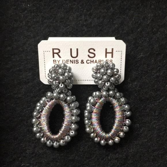 RUSH Jewelry - Rainbow Beaded Earrings